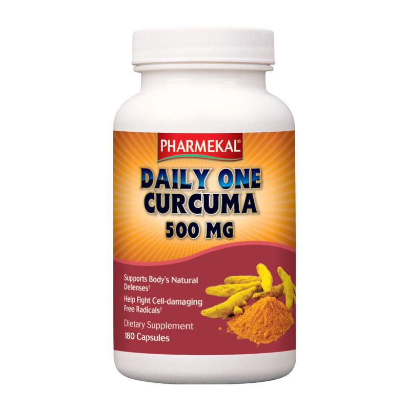 Pharmekal Daily One Curcuma 180 kap.