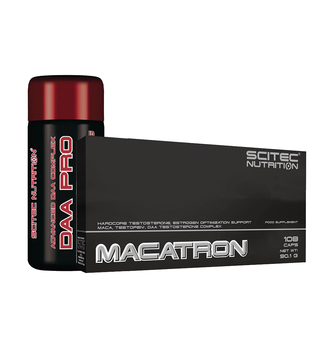 Scitec Nutrition Macatron + DAA Pro set