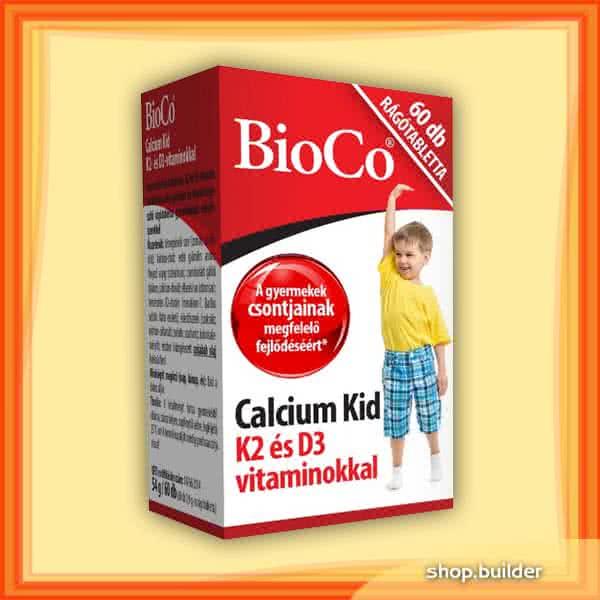 BioCo Calcium Kid 60 žvakaćih tableta