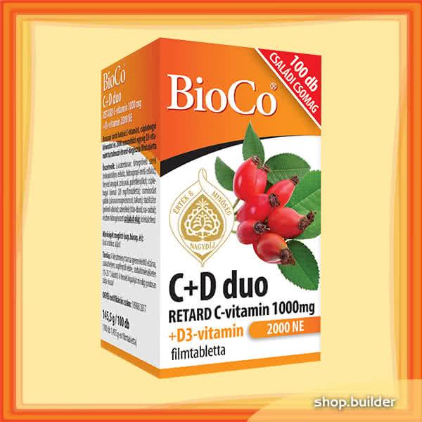 BioCo C+D Vitamin Duo 100 tab.