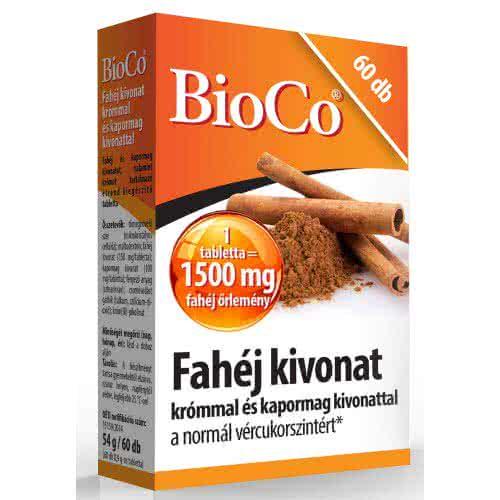 BioCo Cinnamon caps 60 kap.