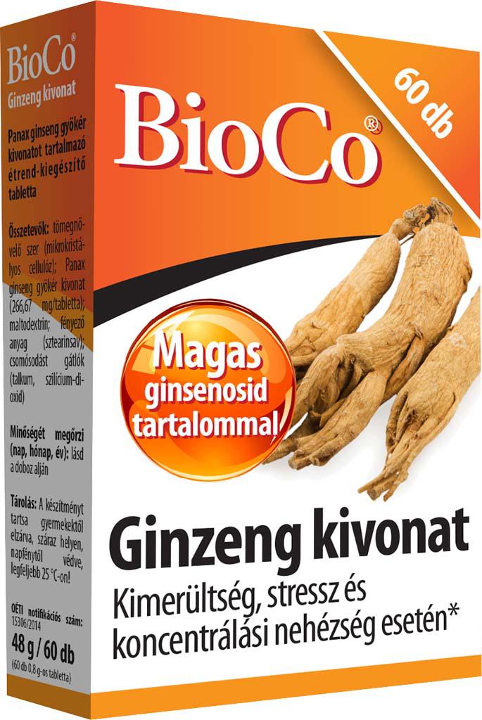 BioCo Ginseng extract 60 tab.
