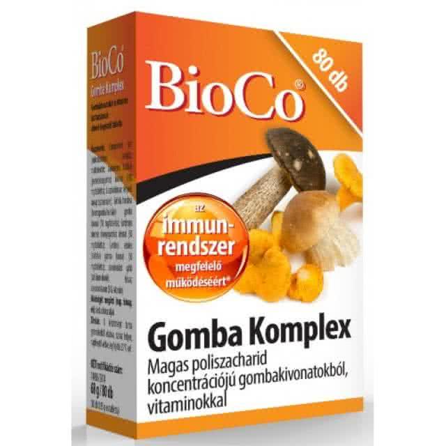 BioCo Mushroom complex 80 tab.