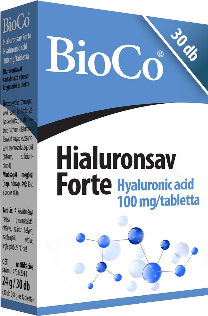 BioCo Hijaluronska kiselina Forte 30 tab.