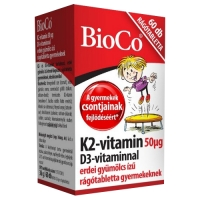 BioCo Vitamin K2 with Vitamin D3 (60 žvakaćih tableta)