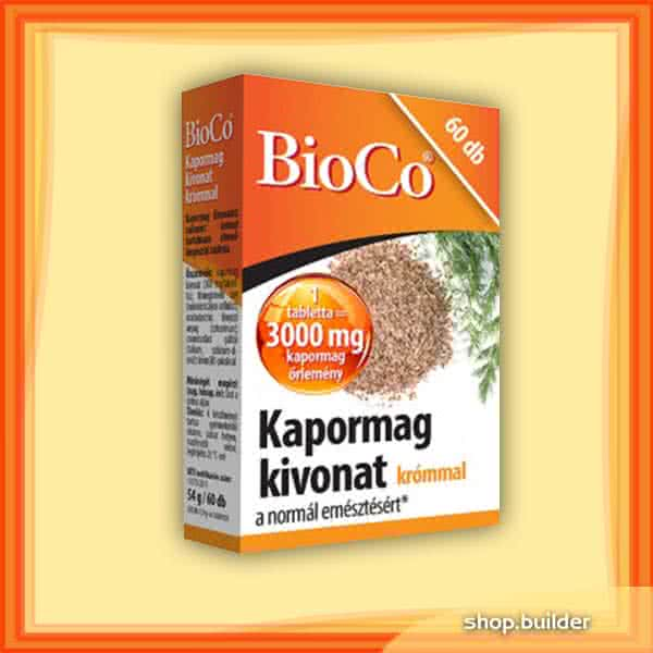 BioCo Dill seed extract with chrome 60 tab.