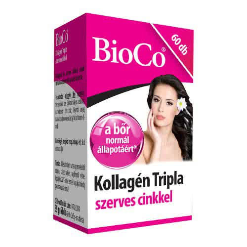 BioCo Triple Collagen with Zinc 60 tab.