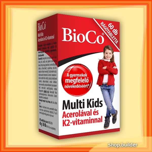 BioCo Multi Kids 60 žvakaćih tableta