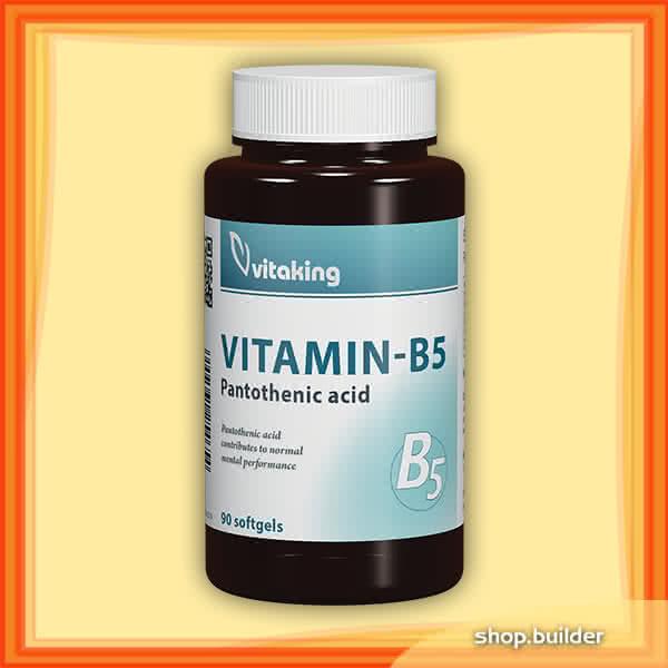 VitaKing Vitamin B5 90 kap.