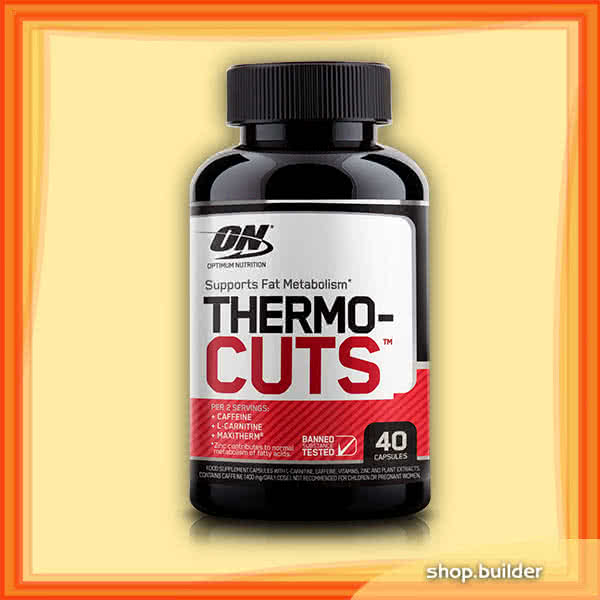 Optimum Nutrition Thermo Cuts 40 kap.