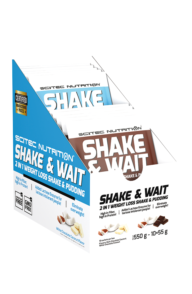Scitec Nutrition Shake & Wait Box 10x55 g