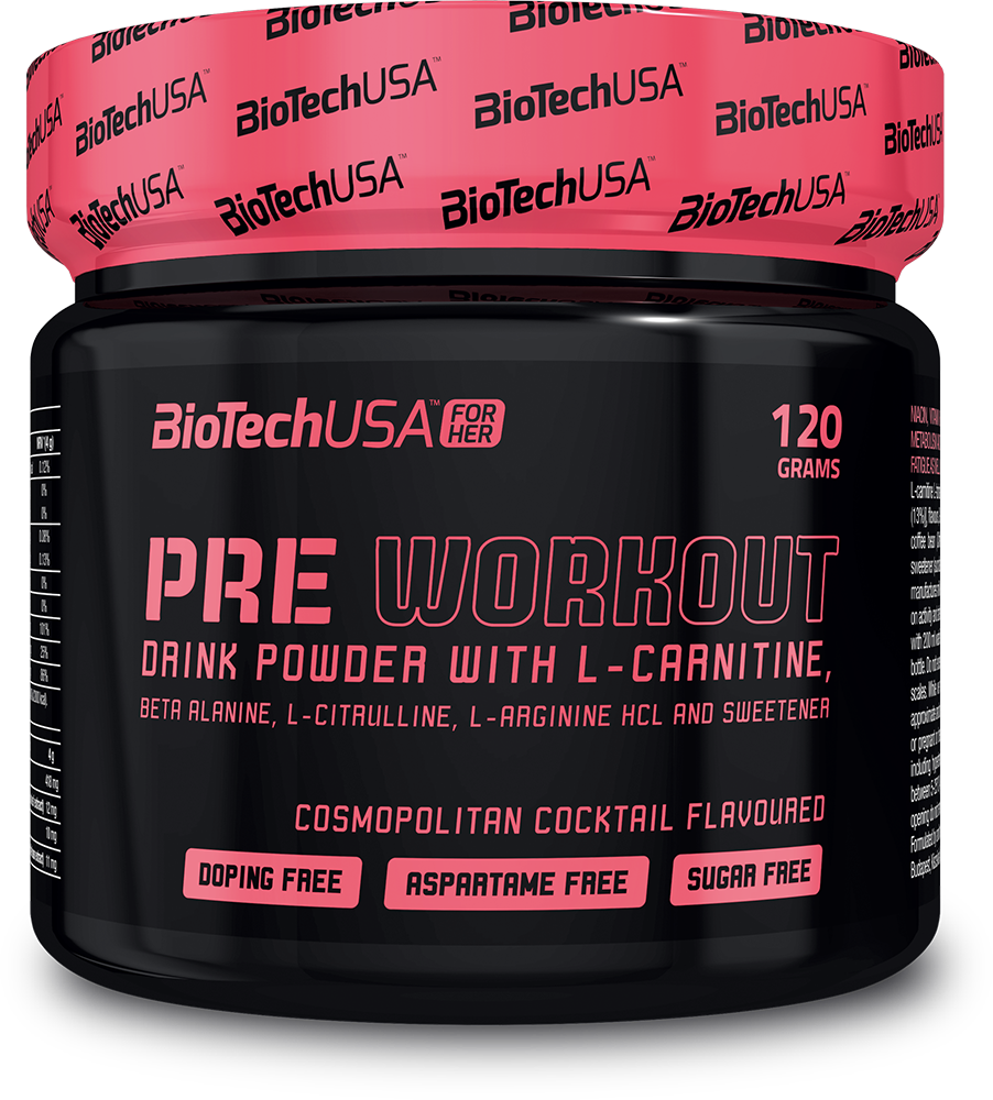 BioTech USA Pre Workout for Her 120 gr.