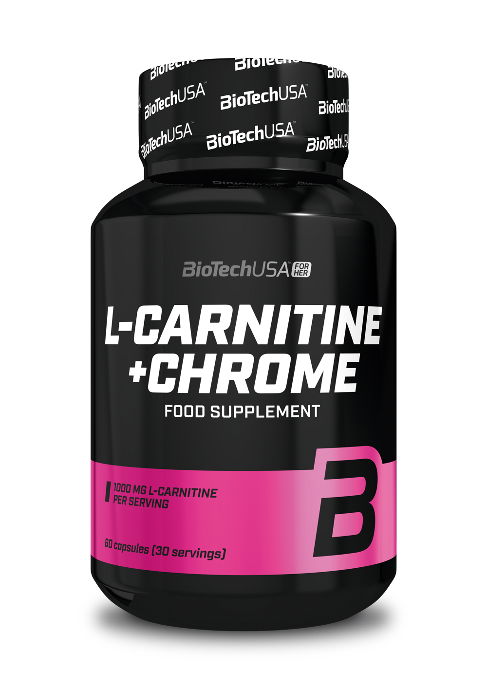 BioTech USA L-Carnitine + Chrome for Her 60 kap.