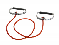 Thera Band Resistance Tubing With Soft Handles 140cm, medium