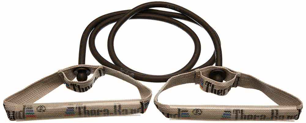 Thera Band Resistance Tubing With Flexible Handles 140cm, super strong