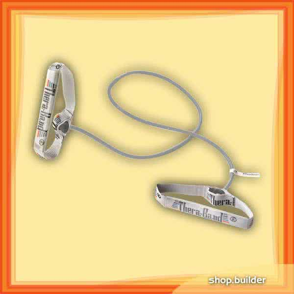 Thera Band Resistance Tubing With Flexible Handles 140cm, extreme strong