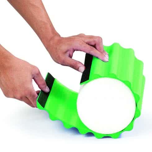 Thera Band Wrap+ Foam Roller 30cm green