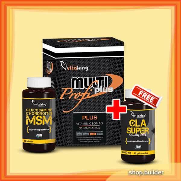 VitaKing Glucosamine Chondroitin MSM + Multi Plus Pro set