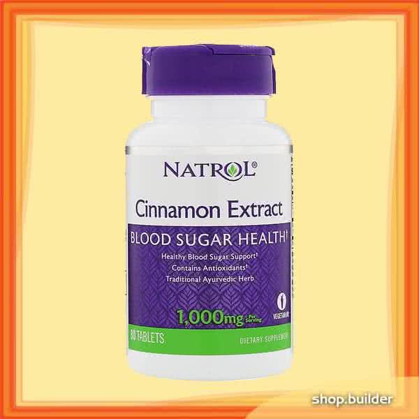 Natrol Cinnamon Extract 80 tab.