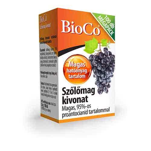 BioCo Grapeseed Extract 100 tab.