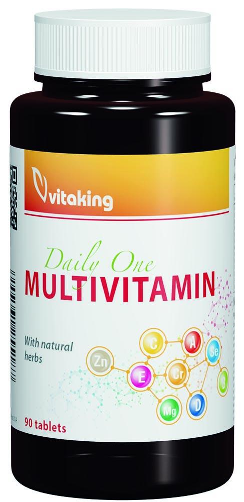 VitaKing Daily One multivitamin 90 tab.