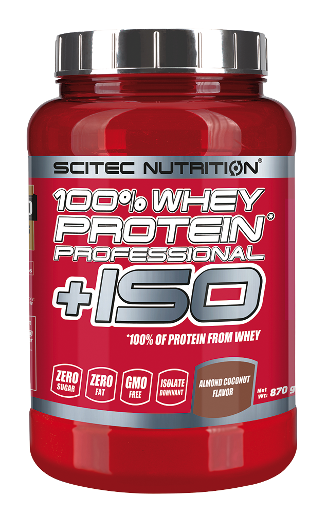 Scitec Nutrition 100% Whey Protein Professional +ISO 0,87 kg
