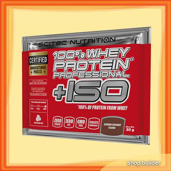 Scitec Nutrition 100% Whey Protein Professional +ISO 30 gr.