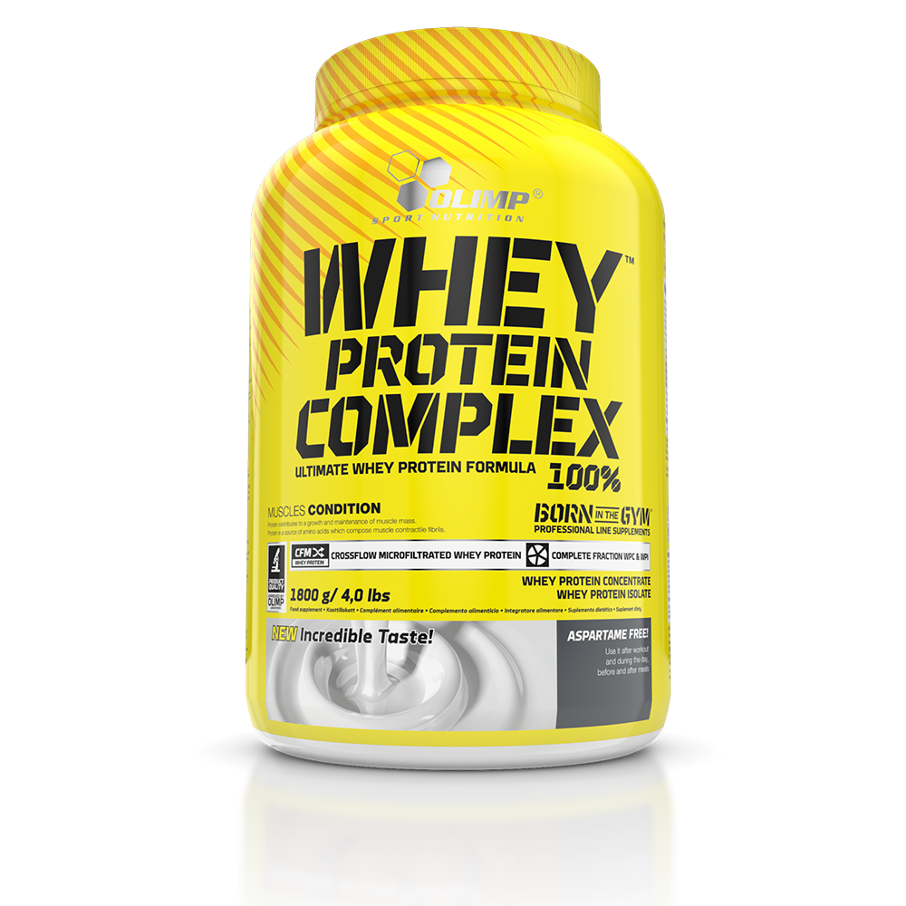 Olimp Sport Nutrition Whey Protein Complex 100% 1,8 kg