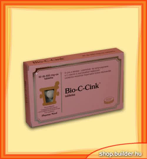 Pharma Nord Bio-C-Zinc 30 tab.