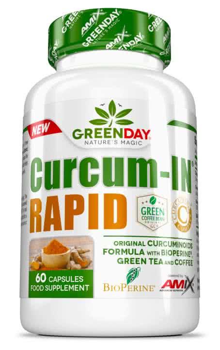 Amix GreenDay Curcum-IN Rapid 60 kap.