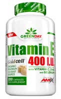 Amix GreenDay Vitamin E 400 I.U. LIFE+ (200 kap.)