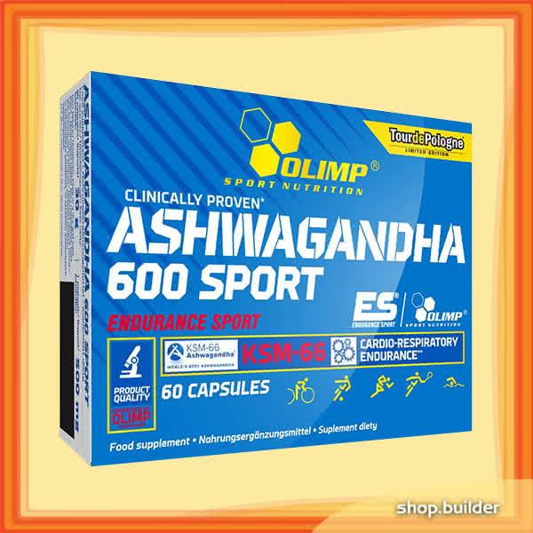 Olimp Sport Nutrition Ashwagandha 600 Sport 60 kap.