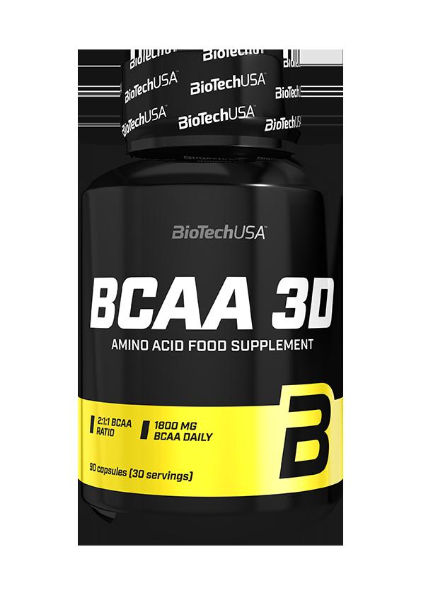 BioTech USA BCAA 3D 180 kap.
