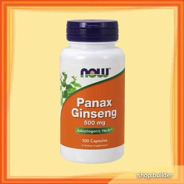 Now Foods Panax Ginseng 100 kap.