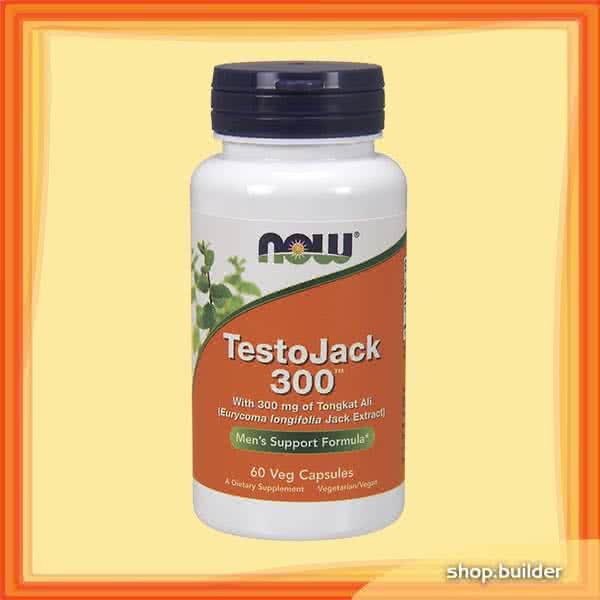 Now Foods TestoJack 300 60 kap.