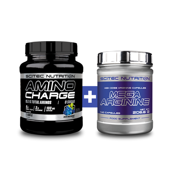 Scitec Nutrition Amino Charge + Mega Arginine set