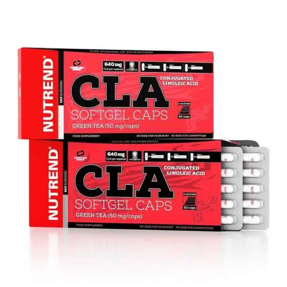 Nutrend CLA Softgel Caps 60 g.k.