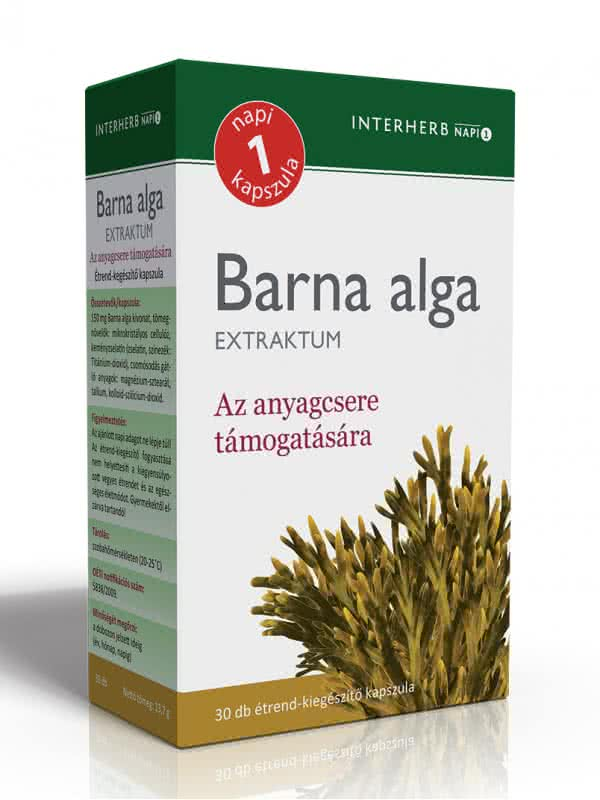 Interherb Brown Algae extract 30 kap.