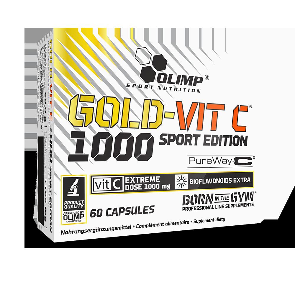Olimp Sport Nutrition Gold-Vit C 1000 Sport Edition 60 kap.