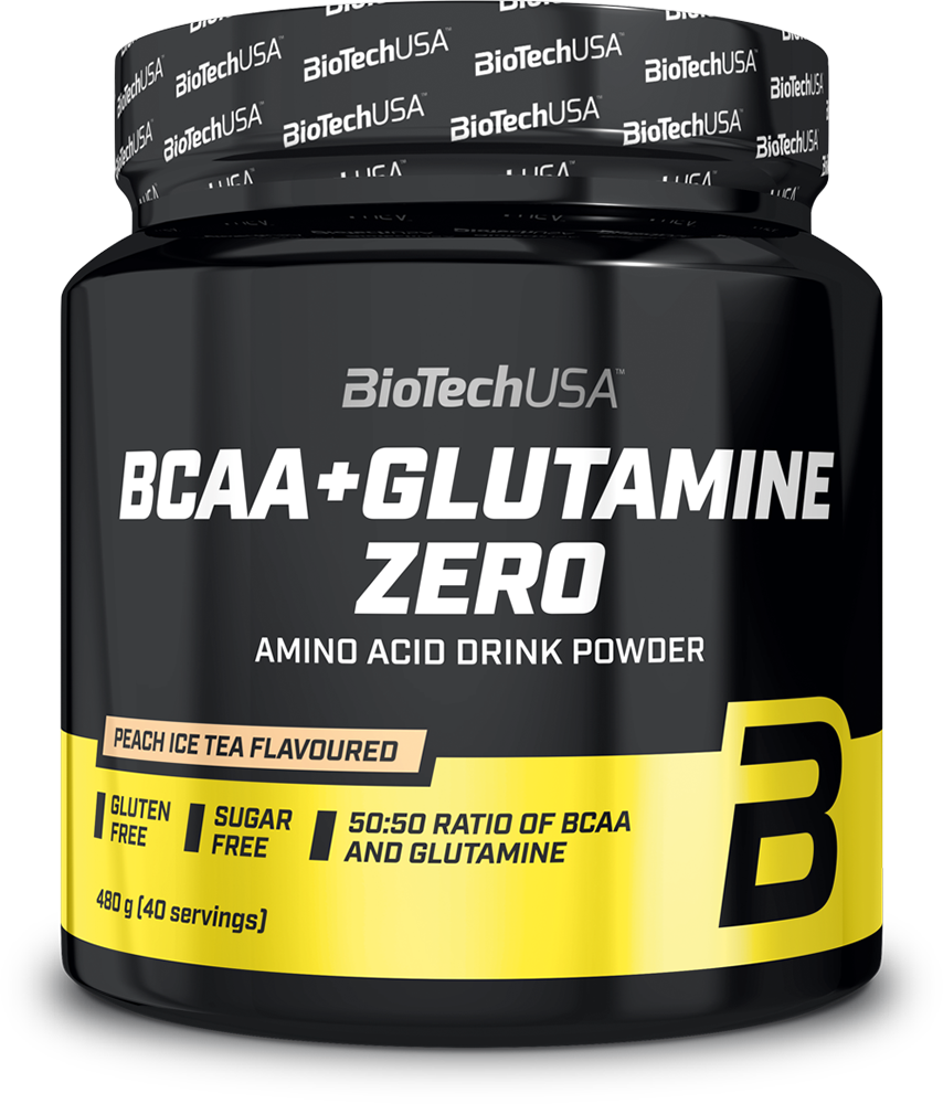 BioTech USA BCAA + Glutamine Zero 480 gr.