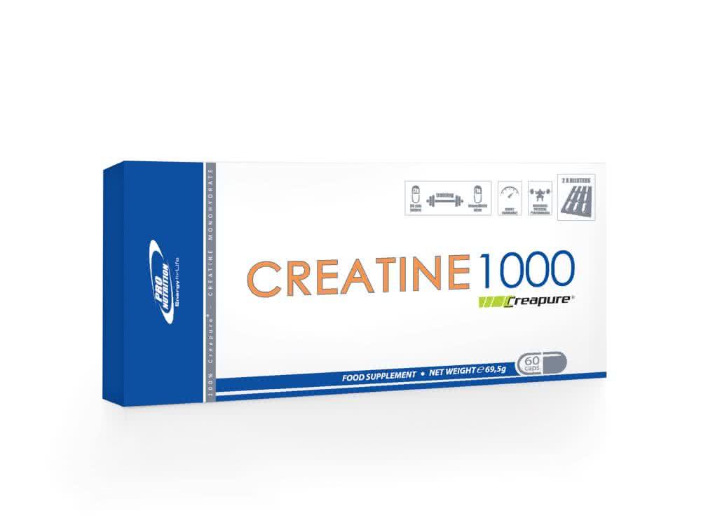 Pro Nutrition Creatine 1000 60 kap.