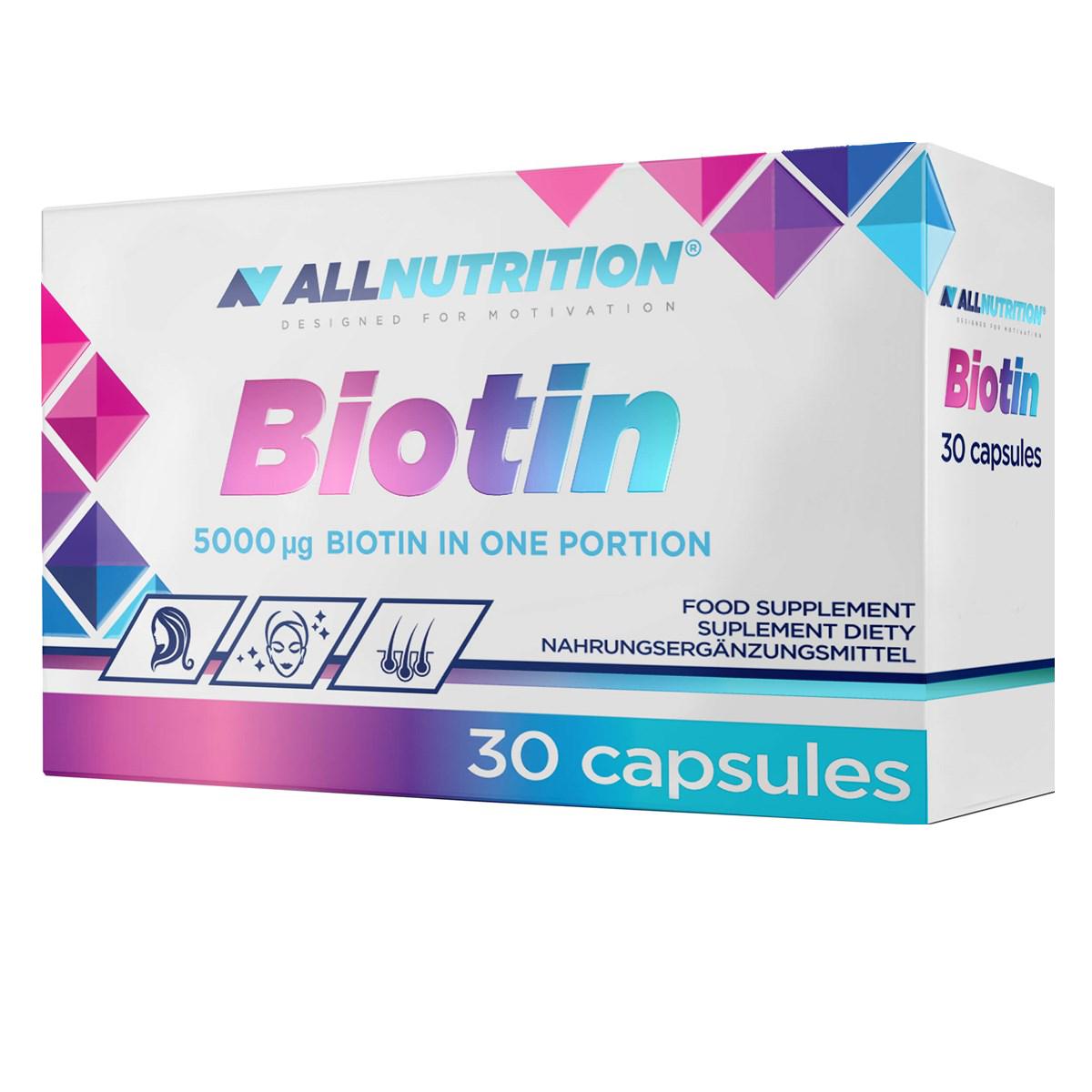 AllNutrition Biotin 30 kap.