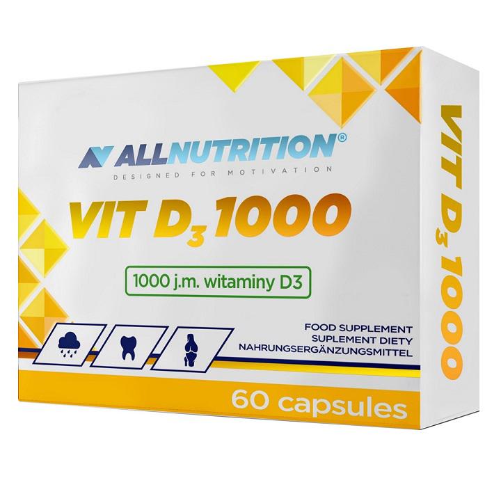 AllNutrition Vit D3 1000 60 kap.
