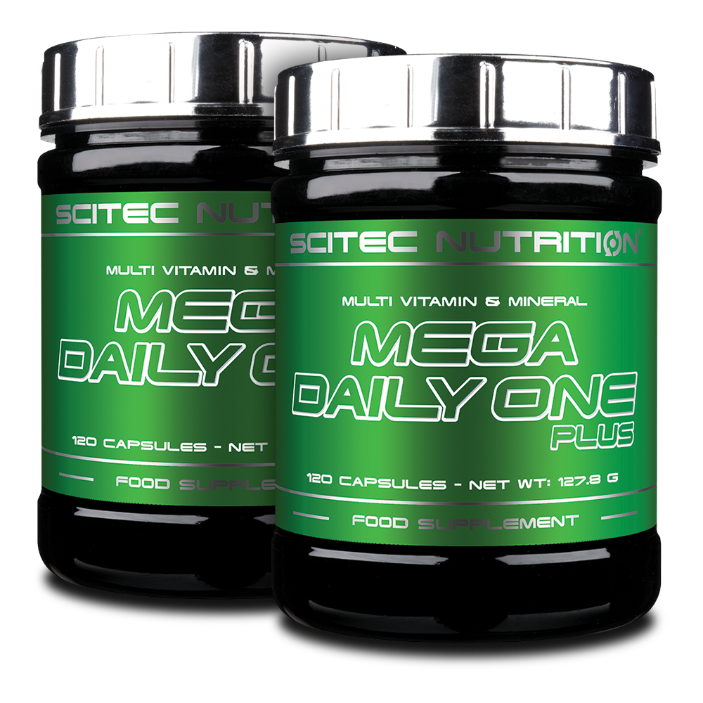 Scitec Nutrition Mega Daily One Plus 1+1 240 kap.
