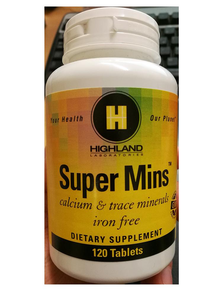 Highland Super Mins 120 tab.