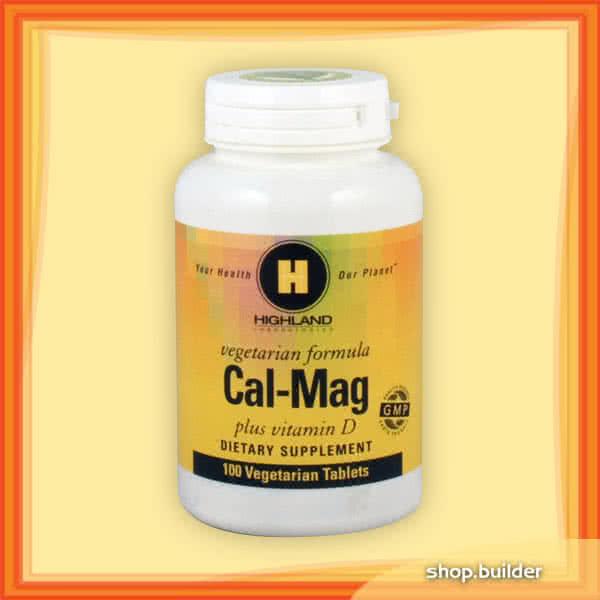 Highland Cal-Mag Plus Vitamin D 100 tab.