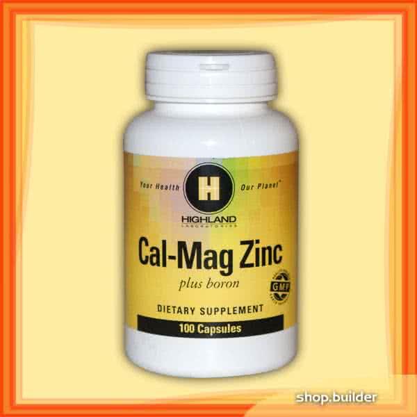 Highland Cal-Mag Zinc + Boron 100 kap.