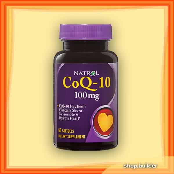 Natrol CoQ-10 (100 mg) 60 kap.