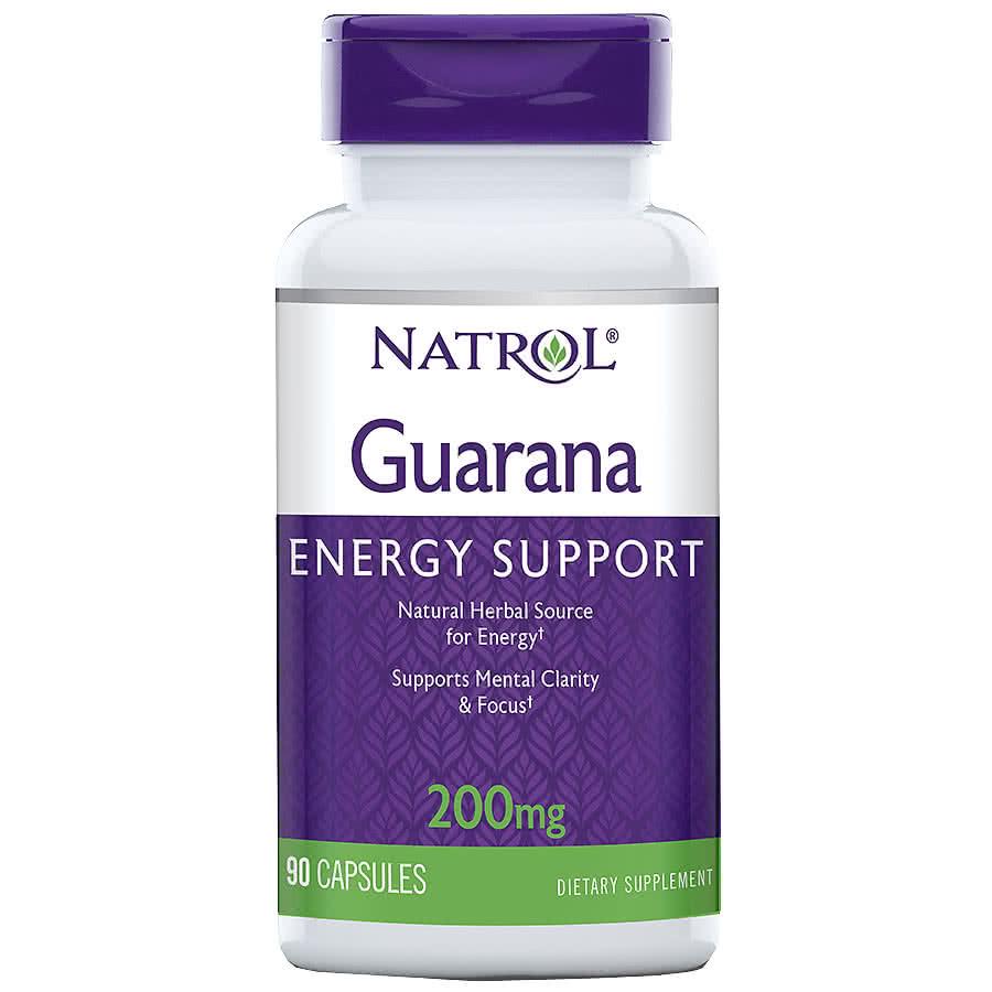 Natrol Guarana 90 kap.