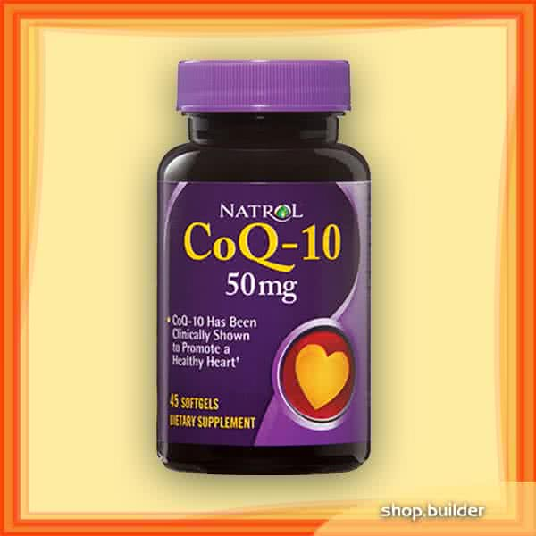 Natrol CoQ-10 (50 mg) 45 kap.